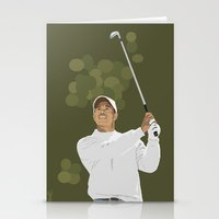 Tiger Woods Stationery Cards