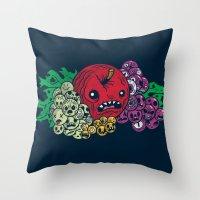 Fruit of the Tomb Throw Pillow