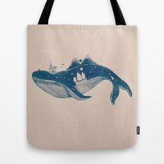 Home (A Whale from Home) Tote Bag