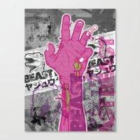 Zombie Reach Canvas Print