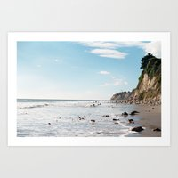 1000 Steps Beach Art Print