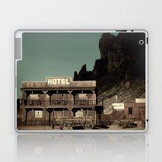 Old West Hotel fine art photography Laptop & iPad Skin