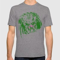 Predator (neon) Mens Fitted Tee Tri-Grey SMALL