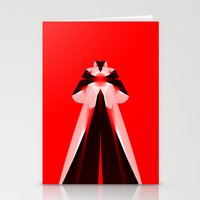 Red Icon Stationery Cards
