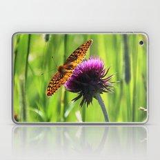 Great Spangled Fritillary Laptop & iPad Skin