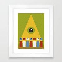 SERFS Framed Art Print