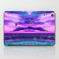 Birds In  Bubbles iPad Case