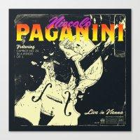 Paganini Canvas Print