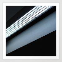 :: Light Squares :: Art Print