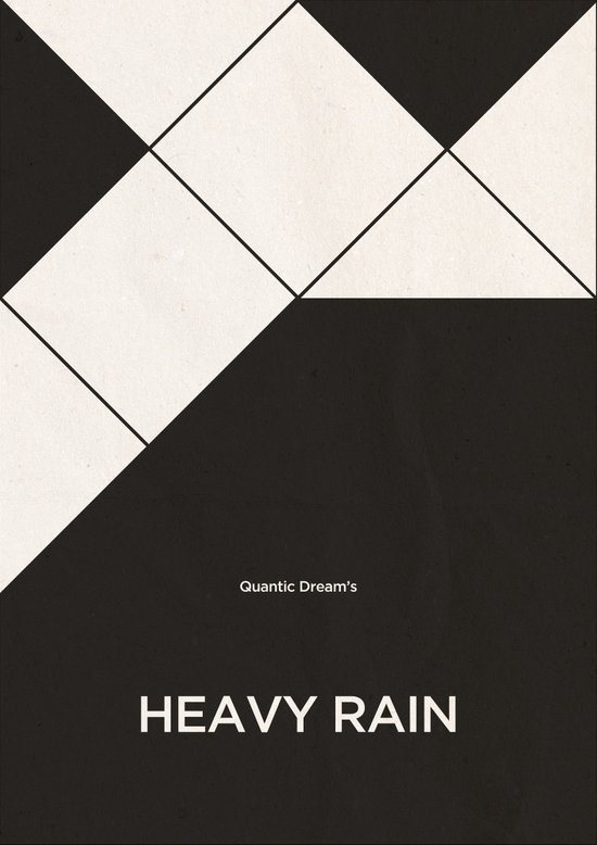 Quantic Dream's Heavy Rain Art Print