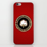 Minimal movie cover: Django Unchained iPhone & iPod Skin