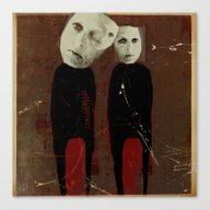 Canvas Print featuring « Cohabiter » 1 by Linda Vachon
