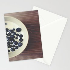 Blueberries I Stationery Cards