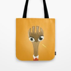 Wooden Forky Tote Bag
