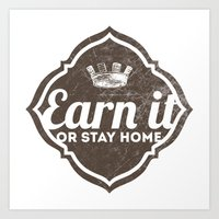 Earn It E-dub 2 Art Print