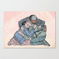 Stranger Things Hug Canvas Print