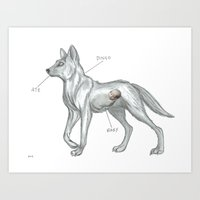 MAYBE THE DINGO ATE YOUR… Art Print