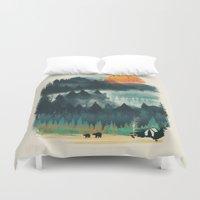 Wilderness Camp Duvet Cover
