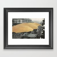 A Day Of Remembrance Framed Art Print