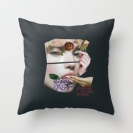 Flowers On The Inside Throw Pillow