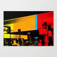 Aberration Station Canvas Print