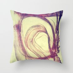 Gasping For Air Throw Pillow