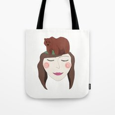 Bear in Mind Tote Bag