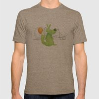 Feeling Green... Mens Fitted Tee Tri-Coffee SMALL
