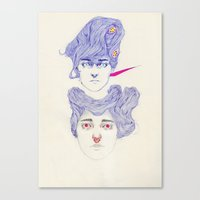 Hair Play 08.2 Canvas Print