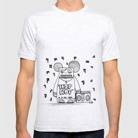 Hip Hop Is All The Rage Mens Fitted Tee Ash Grey SMALL