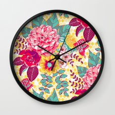 Bloomin' Beauties - Sunshine Wall Clock