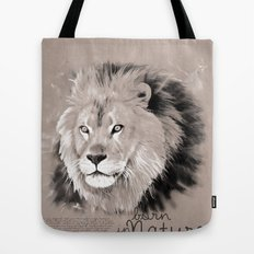 Lion (BornInNature) Tote Bag