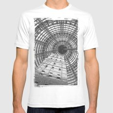 To The Point SMALL Mens Fitted Tee White