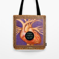 Hole In Art Tote Bag