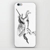 Arty Unicorn iPhone & iPod Skin