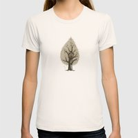 Tree House Womens Fitted Tee Natural SMALL