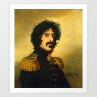 Frank Zappa - Replacefac… Art Print