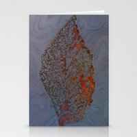 Autum Leaf Stationery Cards