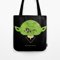 StarWars May the Force be with you (green vers.) Tote Bag