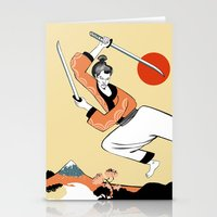 Samurai Stationery Cards
