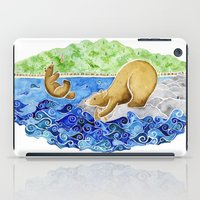 Baby Bear Takes A Tumble iPad Case