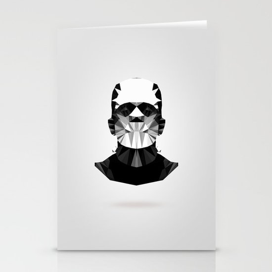 Polygon Heroes - The Horror Stationery Card