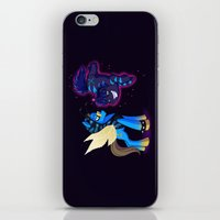 Mad T Ponies 'Absolem and Chesshur' iPhone & iPod Skin