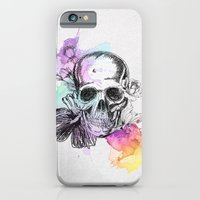 iPhone & iPod Case featuring Color Skull by Aurelie Scour