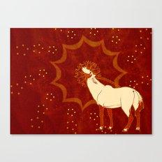 Sun Oryx Canvas Print