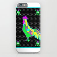 dubstep rooster iPhone 6 Slim Case