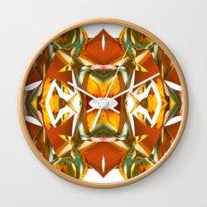 Rainbow Warp - White Wall Clock
