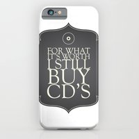 iPhone & iPod Case featuring I love CD's by Ivory Grand