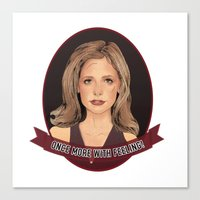 Buffy Summers - Once More with Feeling Canvas Print