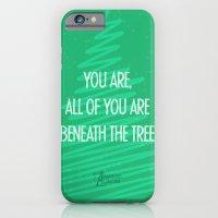 Beneath the tree iPhone 6 Slim Case